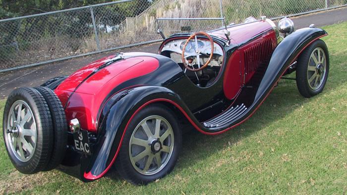 bugatti type 55 | don packwood fine artist